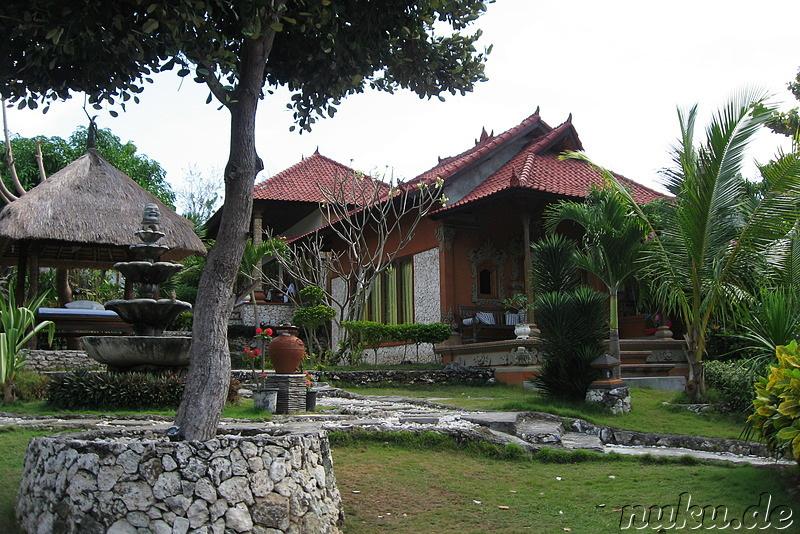 Tanis Villa am Mushroom Beach, Nusa Lembongan, Indonesien