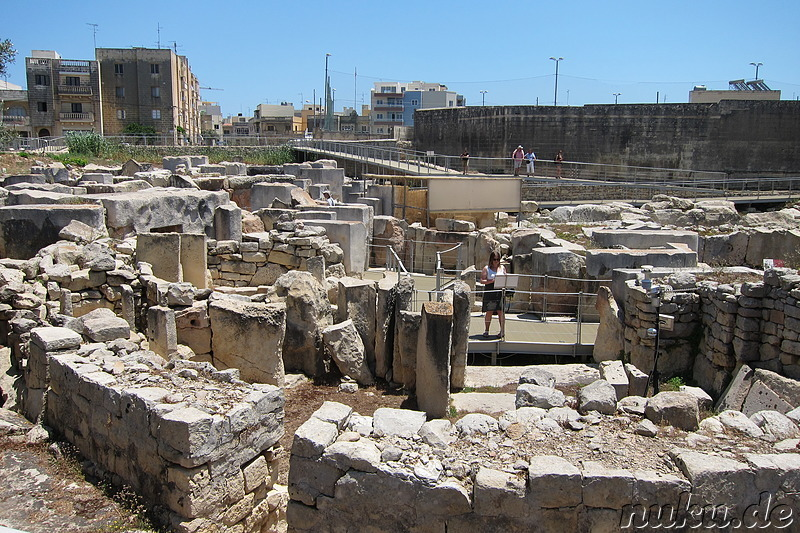 Tarxien Temples in Paolo, Malta