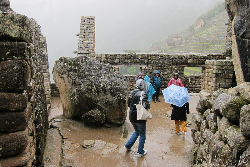 Temple of the Condor, Machu Picchu, Peru