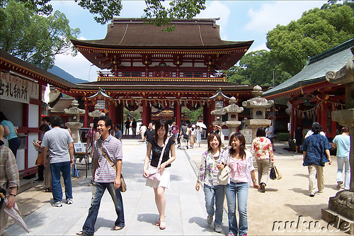 Tenman-gu Shrine, Dazaifu