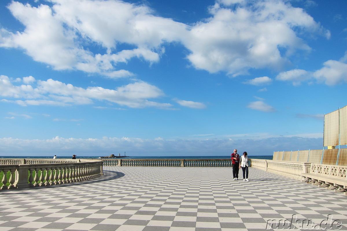 Terrazza Mascagni - Livorno, Italien, Südeuropa