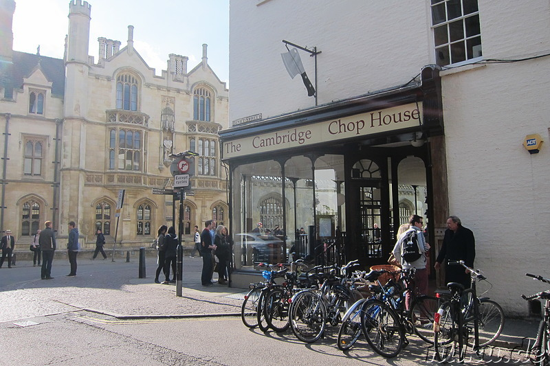 The Cambridge Chop House - Restaurant in Cambridge, England