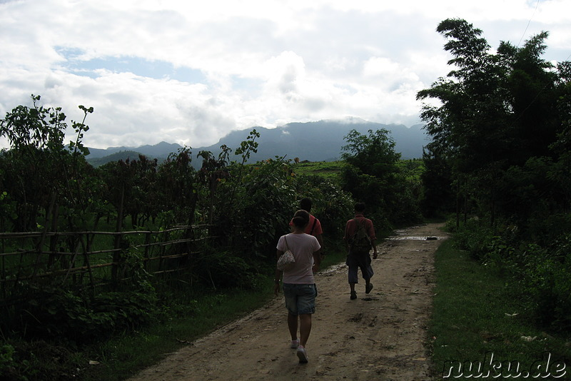 Trekking zum Pa-O-Village am Inle Lake, Myanmar