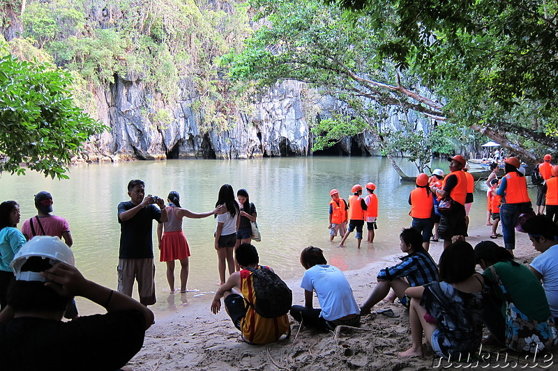 Underground River (Subterranean River National Park) in Sabang, Palawan, Philippinen