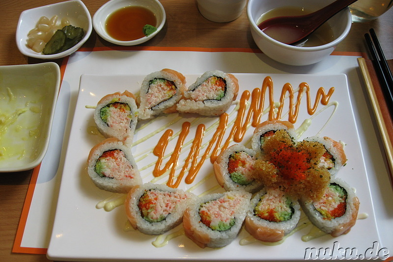 Variante der California Roll