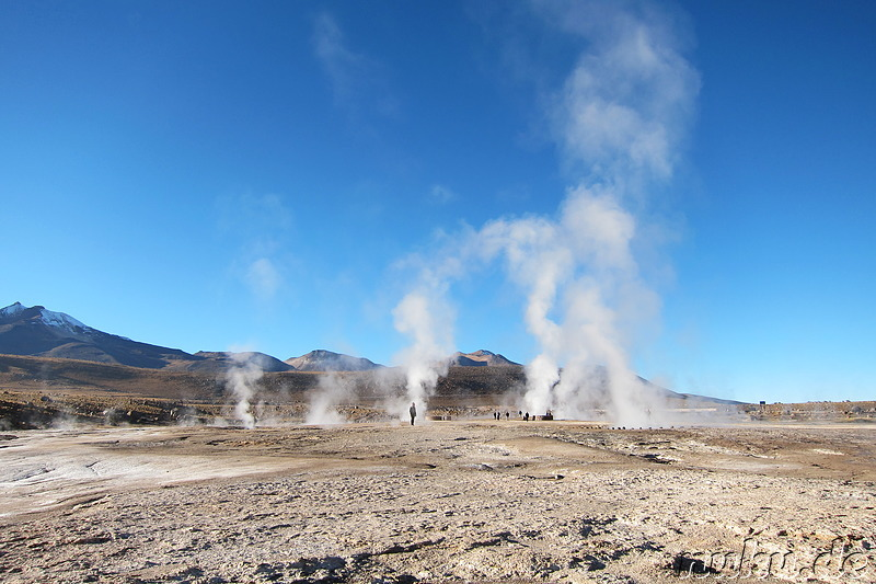Volcanic Hot Springs, Atacamawüste, Chile