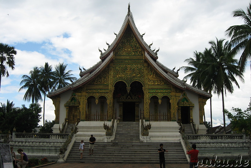 Wat Ho Prabang Tempel am Royal Palace Museum in Luang Prabang