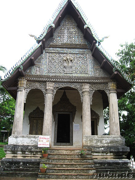Wat Pahouak Tempel in Luang Prabang (Laos)