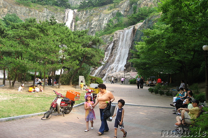 Yongma Waterfall Park