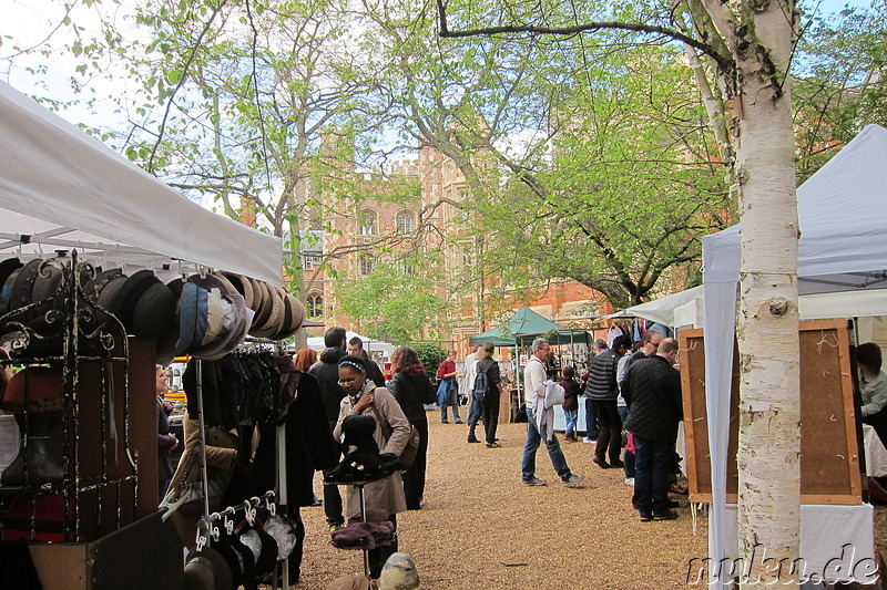 All Saints Garden Art and Craft Market in Cambridge, England