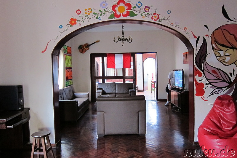 Backpackers Family House in Lima, Peru