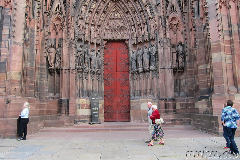 Cathedrale Notre-Dame in Strasbourg, Frankreich