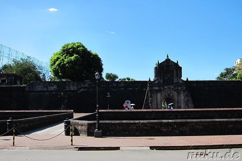 Fort Santiago in Manila, Philippinen