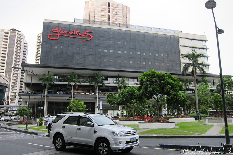 Glorietta & Greenbelt Malls in Makati, Manila, Philippinen