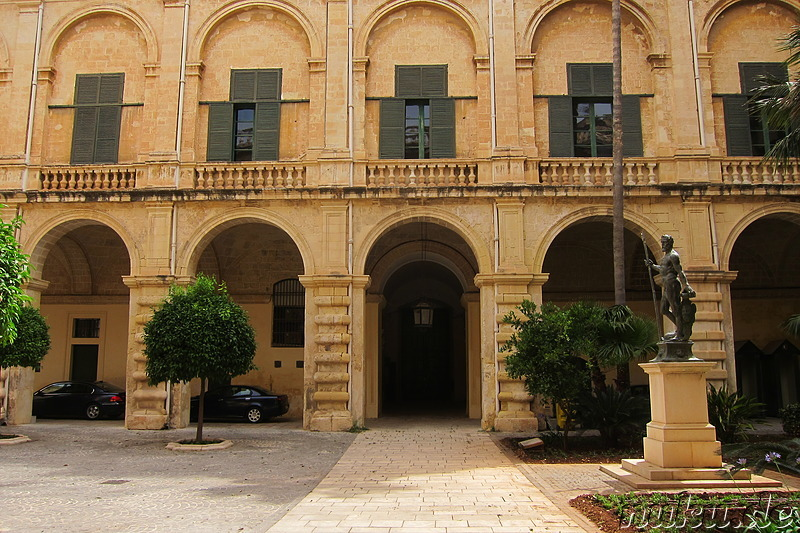 Grand Masters Palace in Valletta, Malta