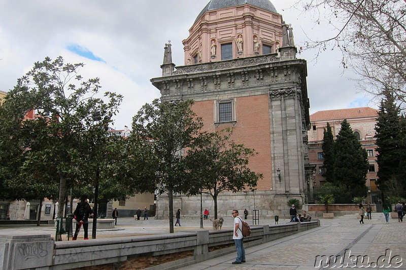 Iglesia de San Andres am Plaza de los Carros  in Madrid, Spanien