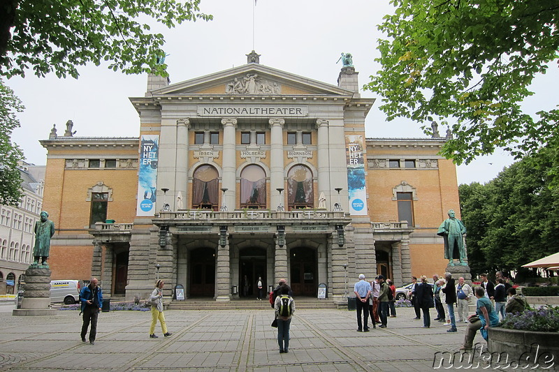 Nationaltheater in Oslo, Norwegen