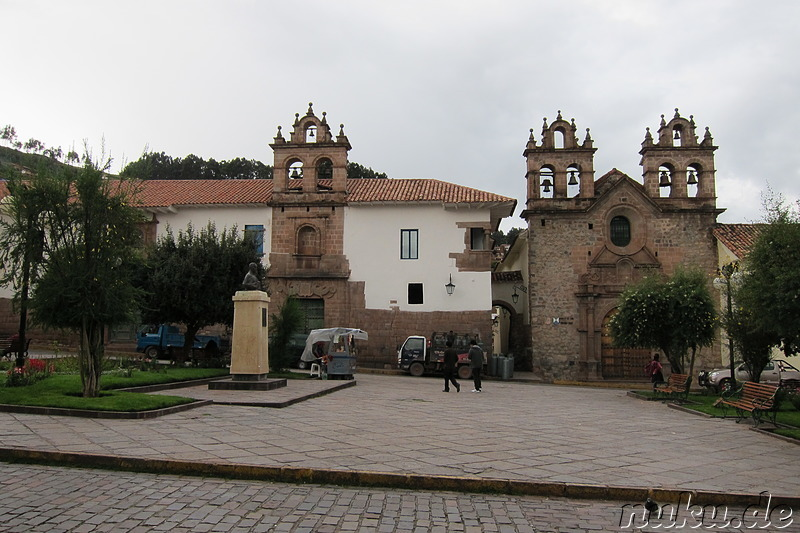 Plazoleta de las Nazarenas in Cusco, Peru
