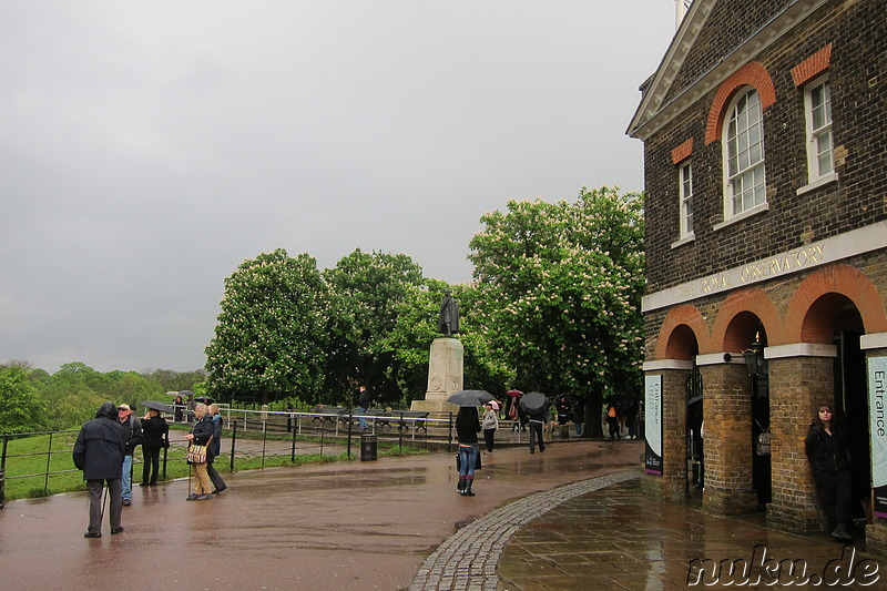 Royal Greenwich Observatory in Greenwich, London