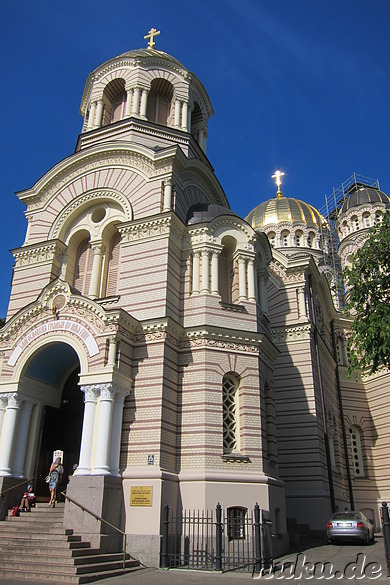 Russian Orthodox Cathedral - Kathedrale in Riga, Lettland