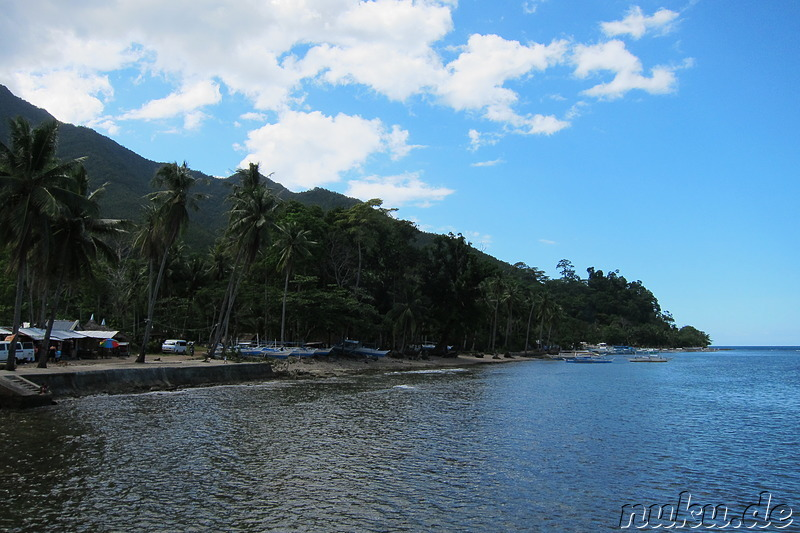 Sabang Beach - Strand in Sabang, Palawan, Philippinen