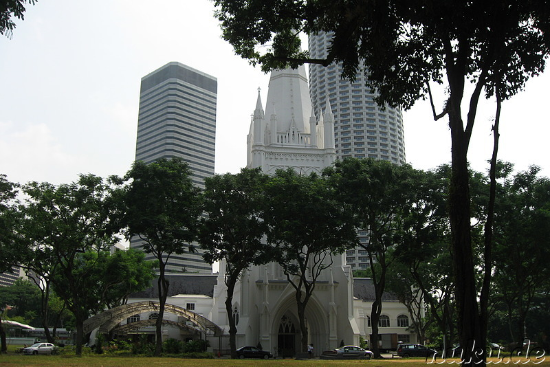 St. Andrews Cathedral, Singapur