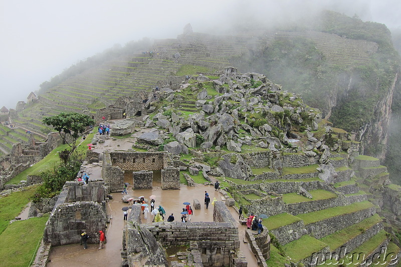 Temple of the three Windows, Maccu Picchu, Peru